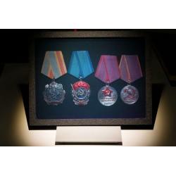 Médailles URSS (par Vladimir) 15x20cm