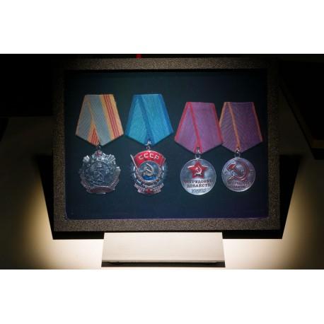 Médailles URSS 15x20cm (par Vladimir)