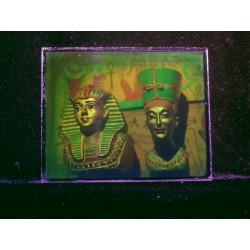 Toutankhamon et Nefertiti 10,1x12,7cm