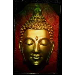 Tête de Bouddha 20x32