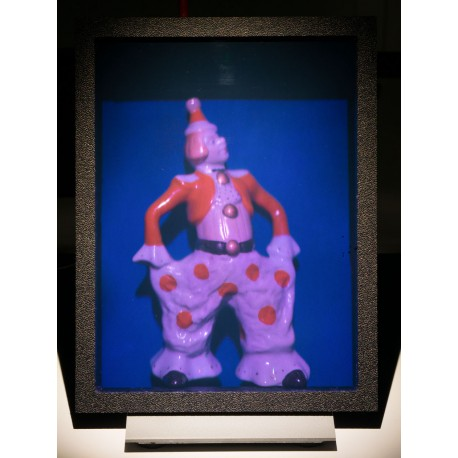 Porcelain clown 15x20cm (by Vladimir)
