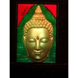Bouddha's head 10x15cm