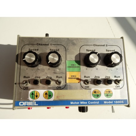ORIEL Motor Mike Control 18005 + 2 motors