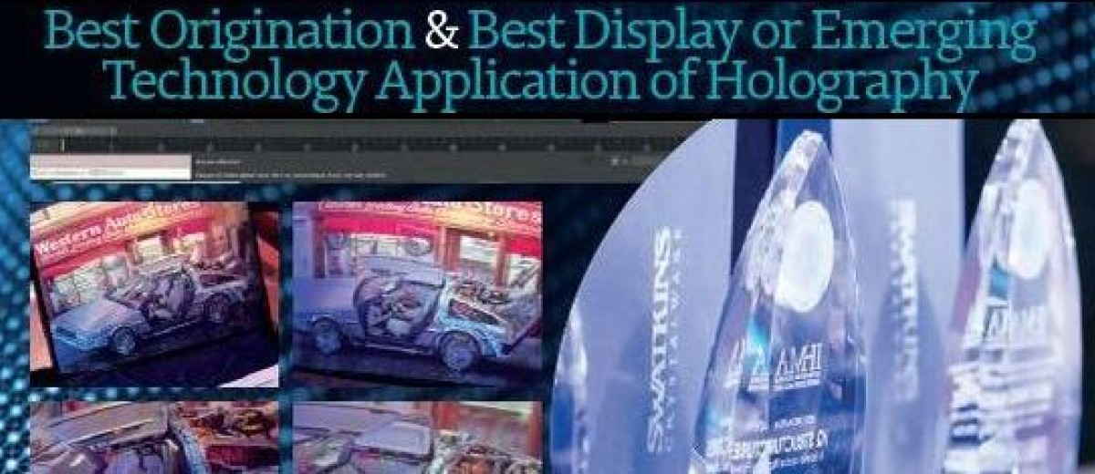 Yves GENTET wins 2 excellence in Holography Awards